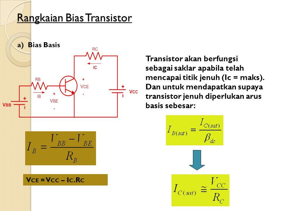 Rangkaian Bias Transistor