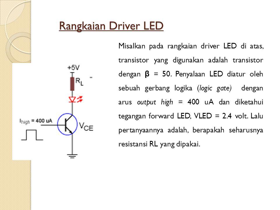 Rangkaian Driver LED