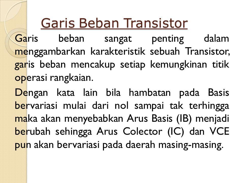 Garis Beban Transistor