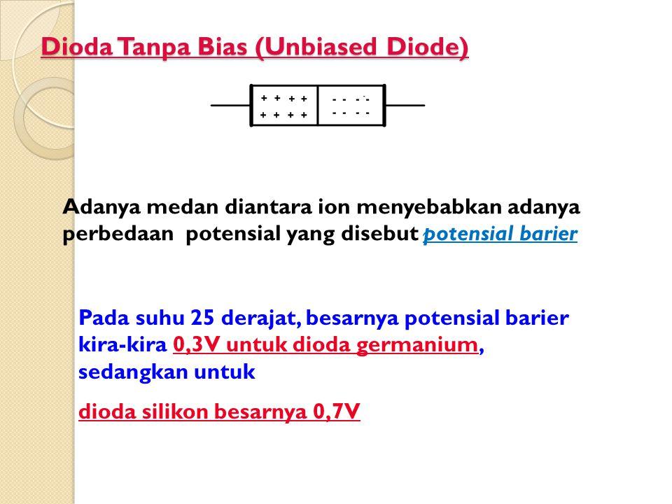 Dioda Tanpa Bias (Unbiased Diode)