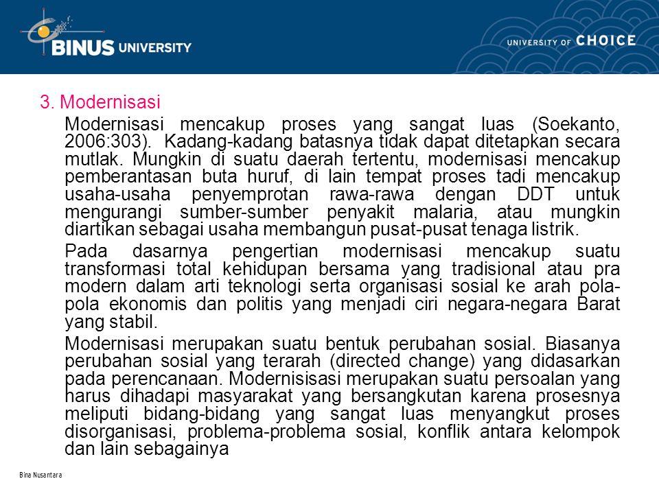 3. Modernisasi