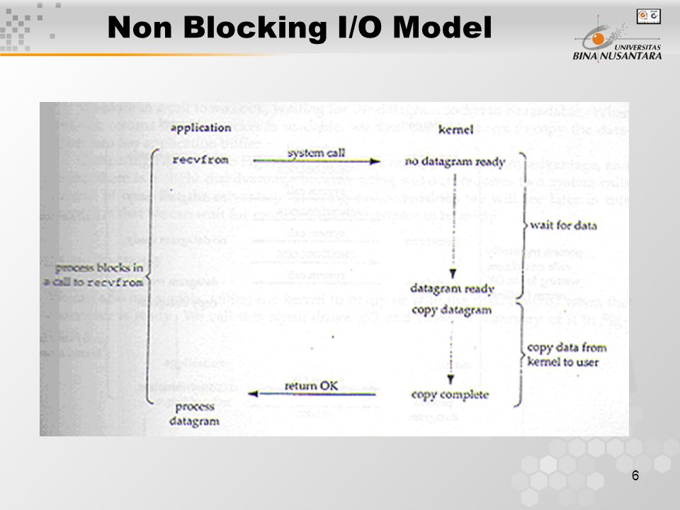 Non Blocking I/O Model