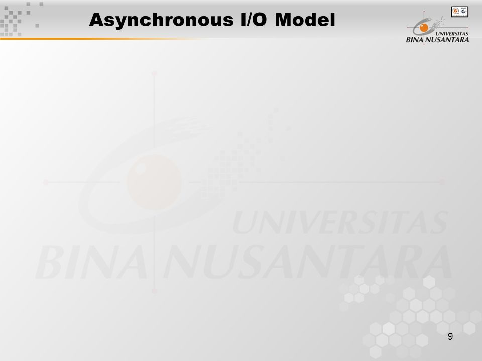 Asynchronous I/O Model