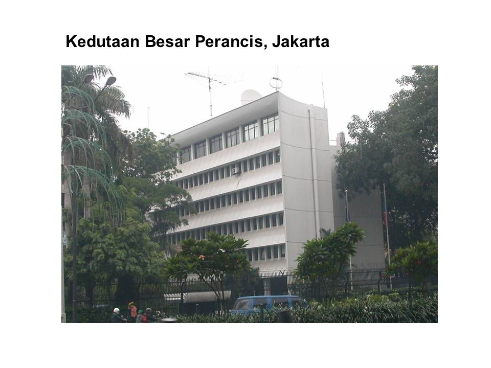 Kedutaan Besar Perancis, Jakarta