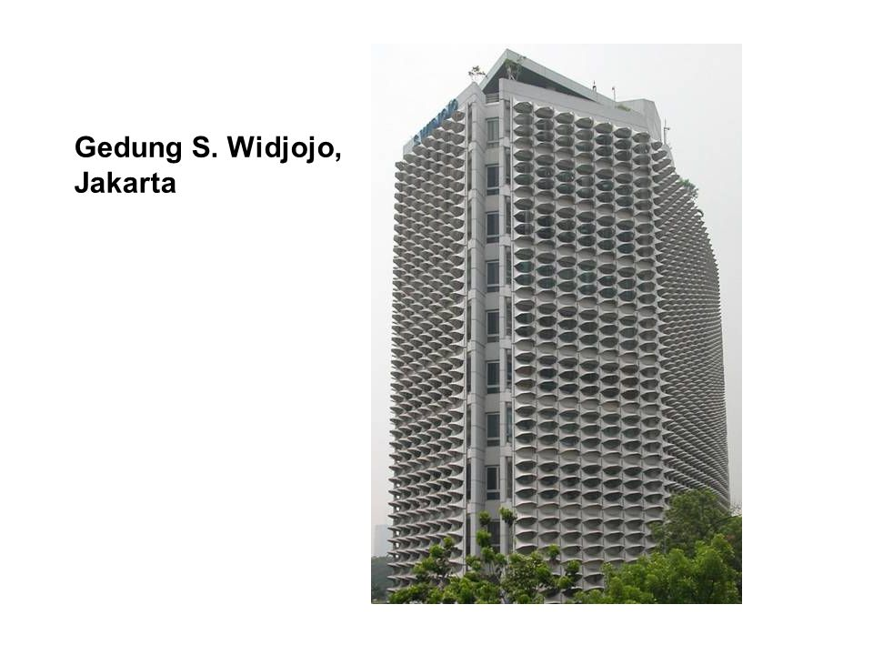 Gedung S. Widjojo, Jakarta