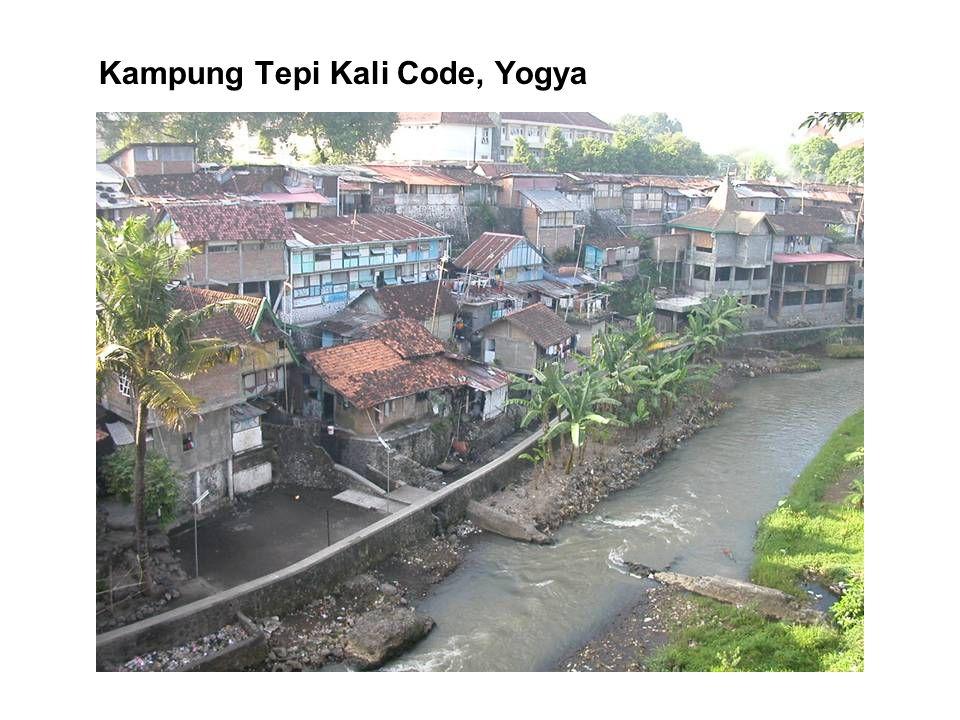 Kampung Tepi Kali Code, Yogya