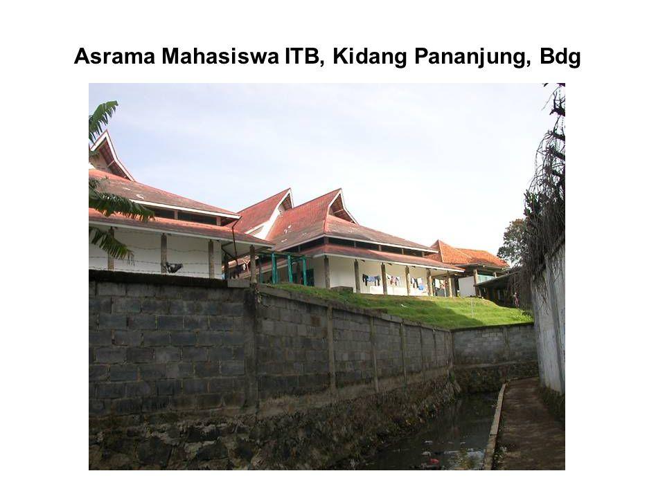Asrama Mahasiswa ITB, Kidang Pananjung, Bdg