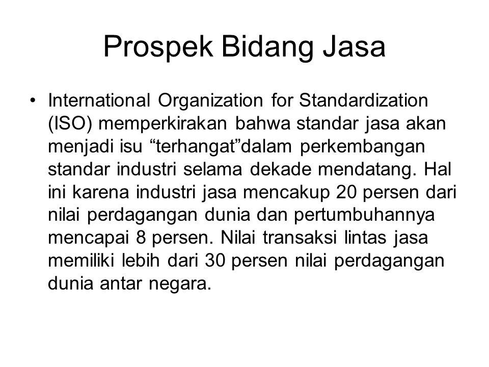 Prospek Bidang Jasa