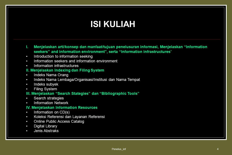 ISI KULIAH