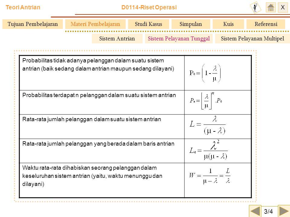 3/4 Tujuan Pembelajaran Materi Pembelajaran Studi Kasus Simpulan Kuis