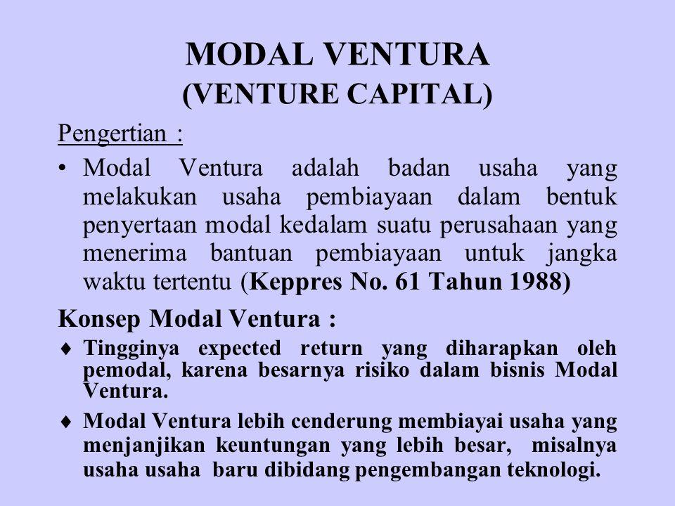 MODAL VENTURA (VENTURE CAPITAL)