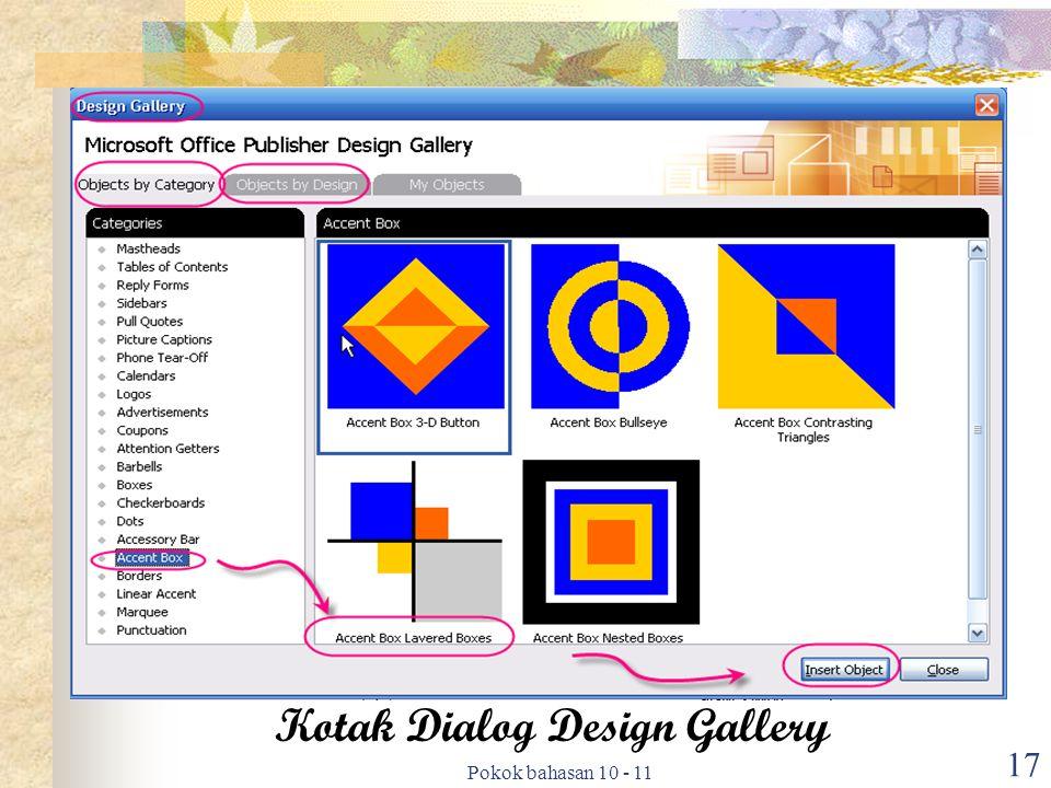 Kotak Dialog Design Gallery