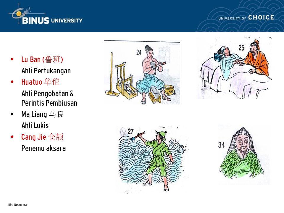 Ahli Pengobatan & Perintis Pembiusan Ma Liang 马良 Ahli Lukis