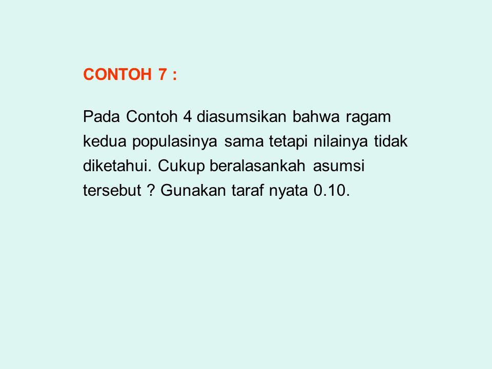 CONTOH 7 :