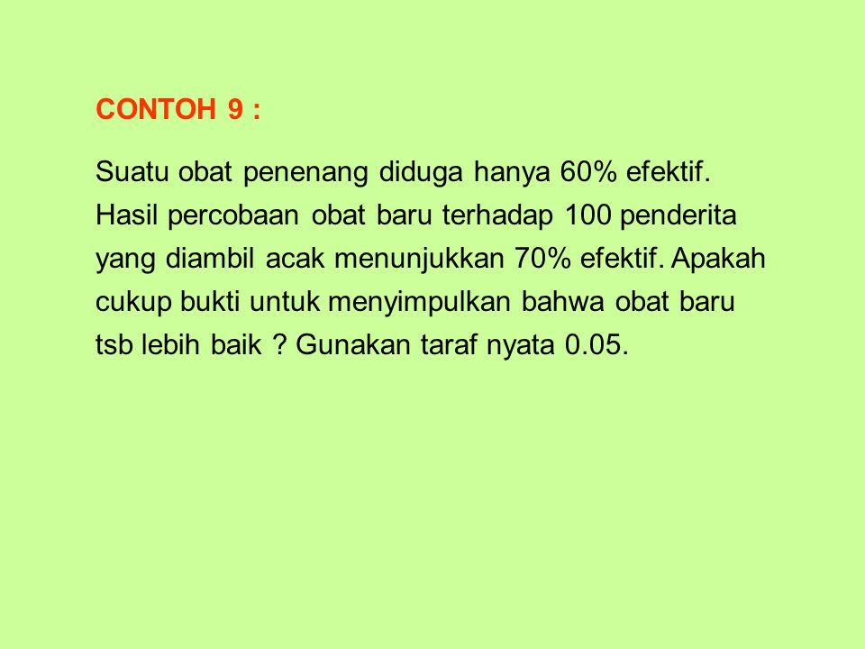 CONTOH 9 :