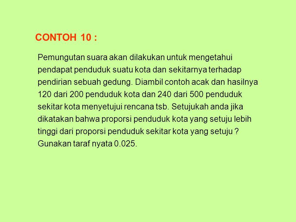 CONTOH 10 :
