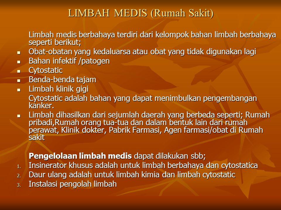LIMBAH MEDIS (Rumah Sakit)