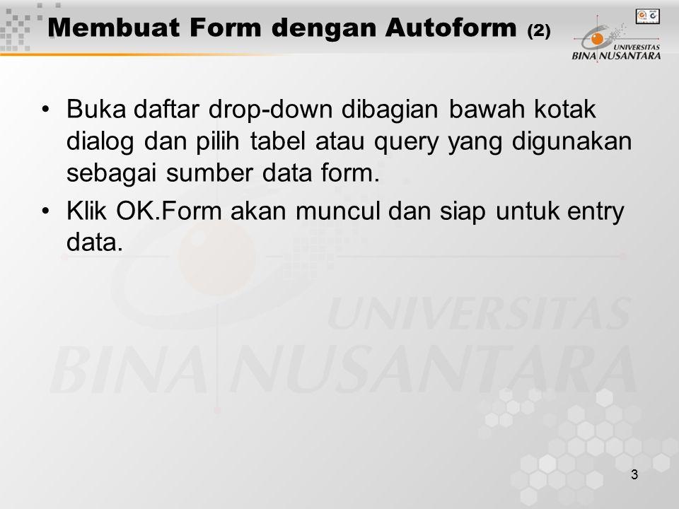 Membuat Form dengan Autoform (2)