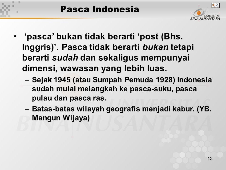 Pasca Indonesia