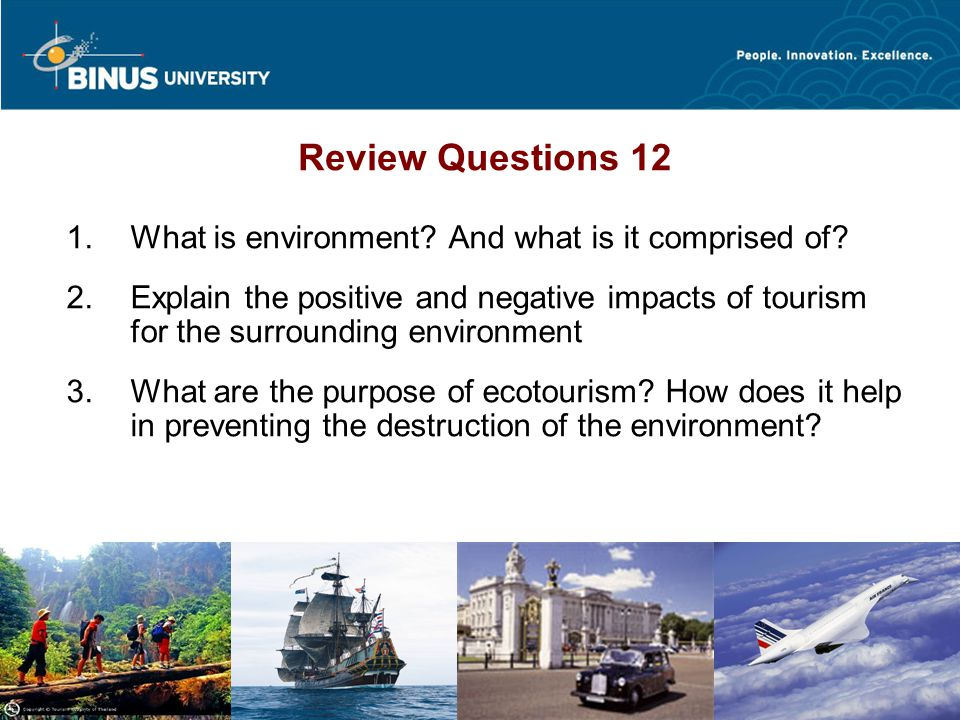 Review Questions 12 What is environment And what is it comprised of