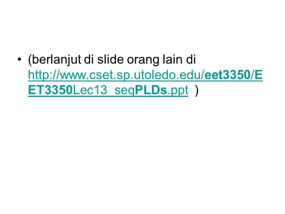 (berlanjut di slide orang lain di http://www. cset. sp. utoledo