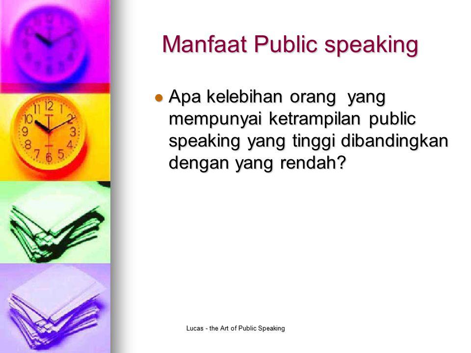 Manfaat Public speaking