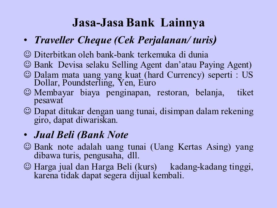 Jasa-Jasa Bank Lainnya