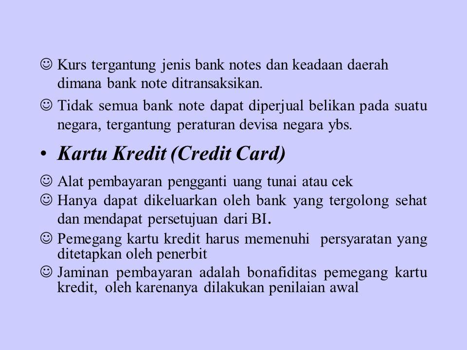 Kartu Kredit (Credit Card)