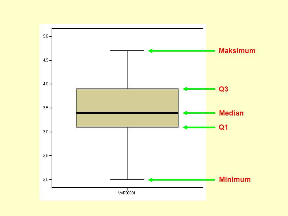 Maksimum Q3 Median Q1 Minimum
