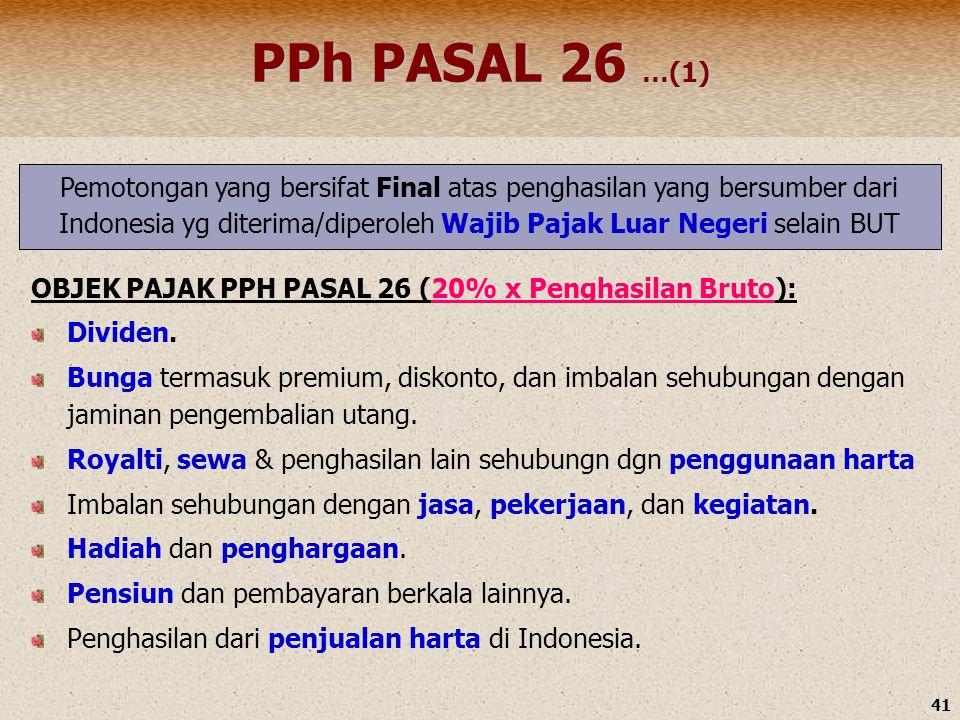 PPh PASAL 26 …(1)