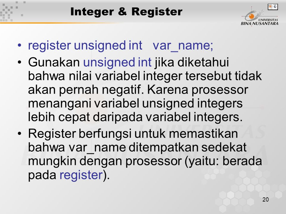 register unsigned int var_name;