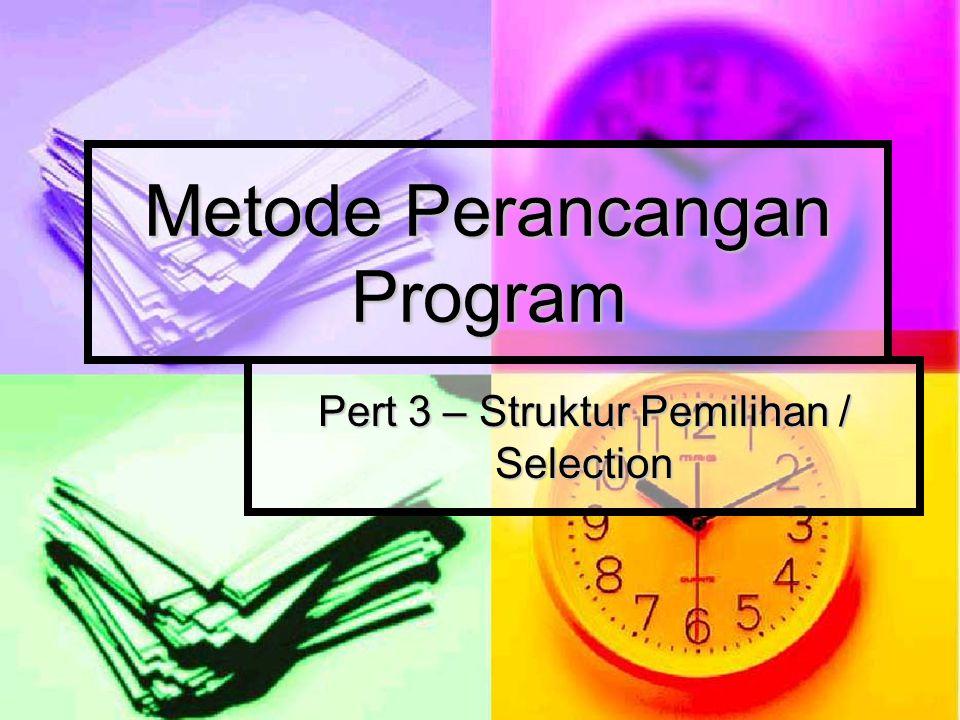 Metode Perancangan Program