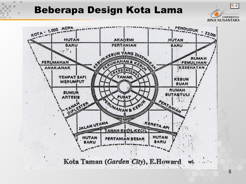 Beberapa Design Kota Lama