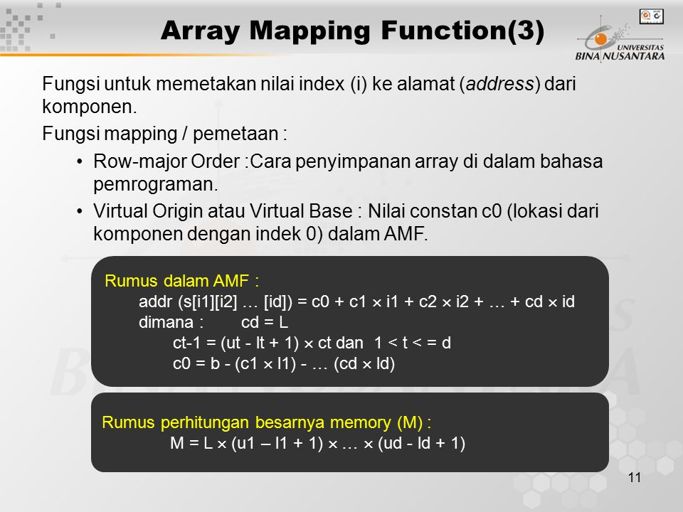 Array Mapping Function(3)