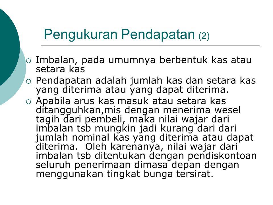 Pengukuran Pendapatan (2)