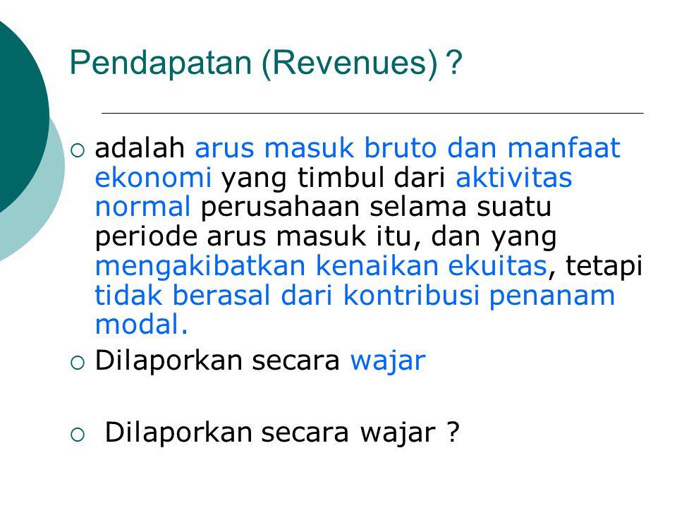 Pendapatan (Revenues)