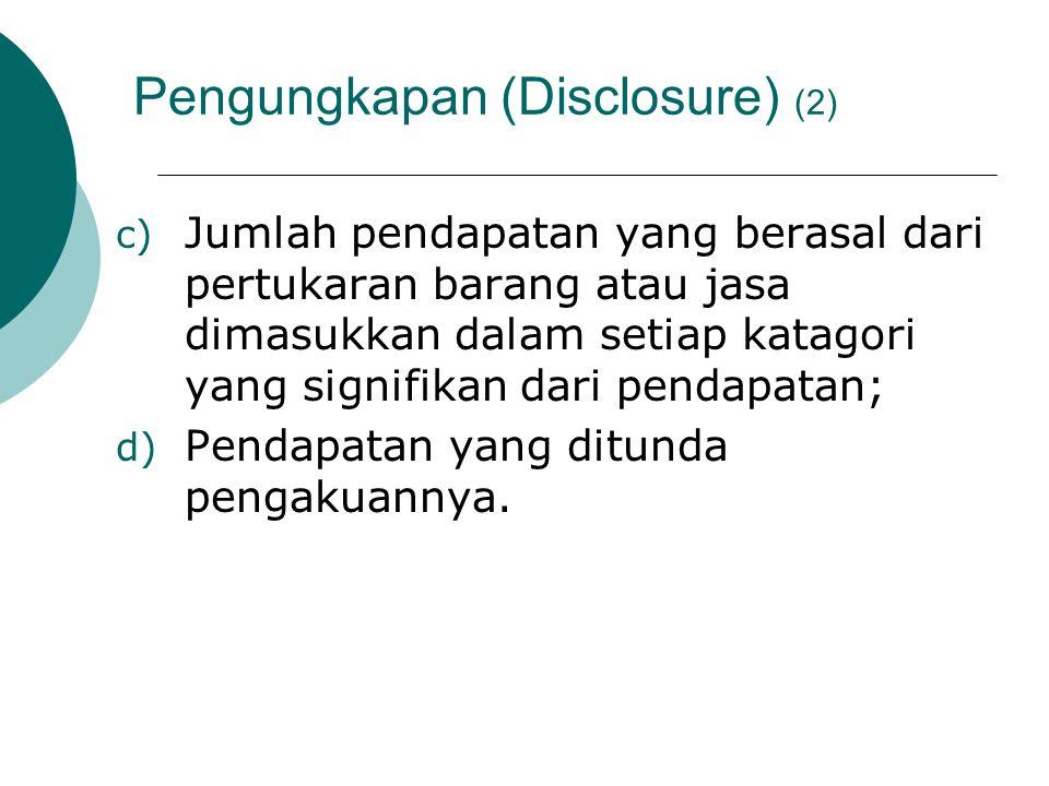 Pengungkapan (Disclosure) (2)