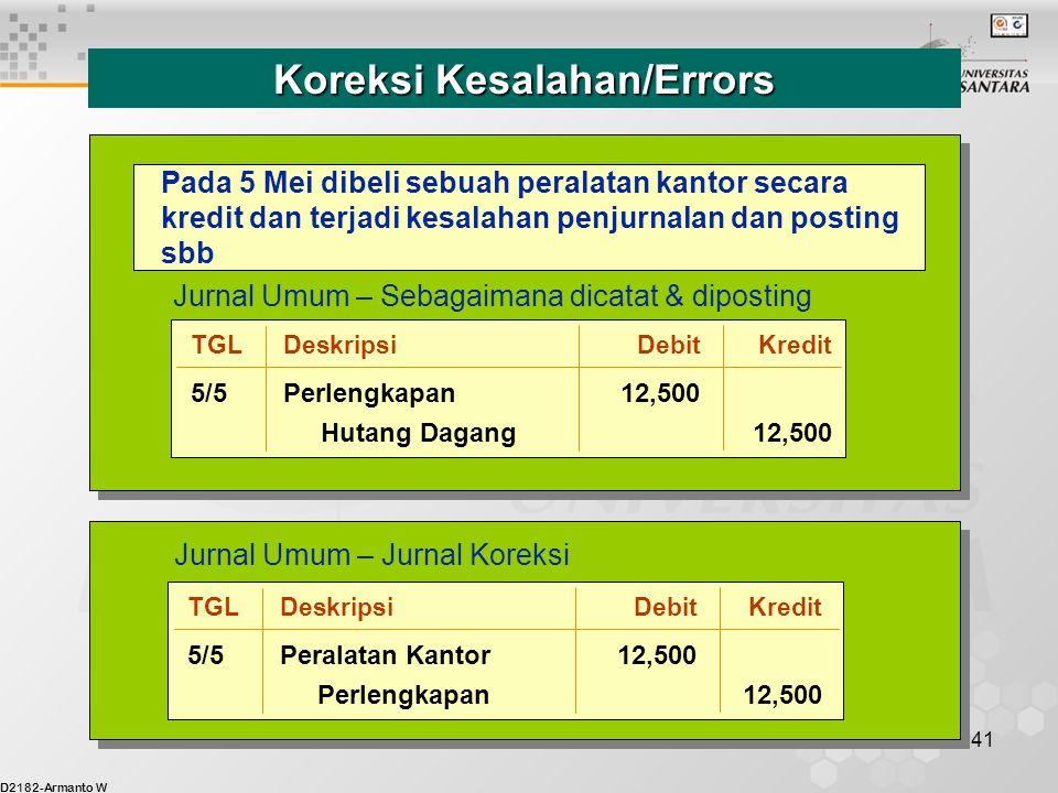Koreksi Kesalahan/Errors