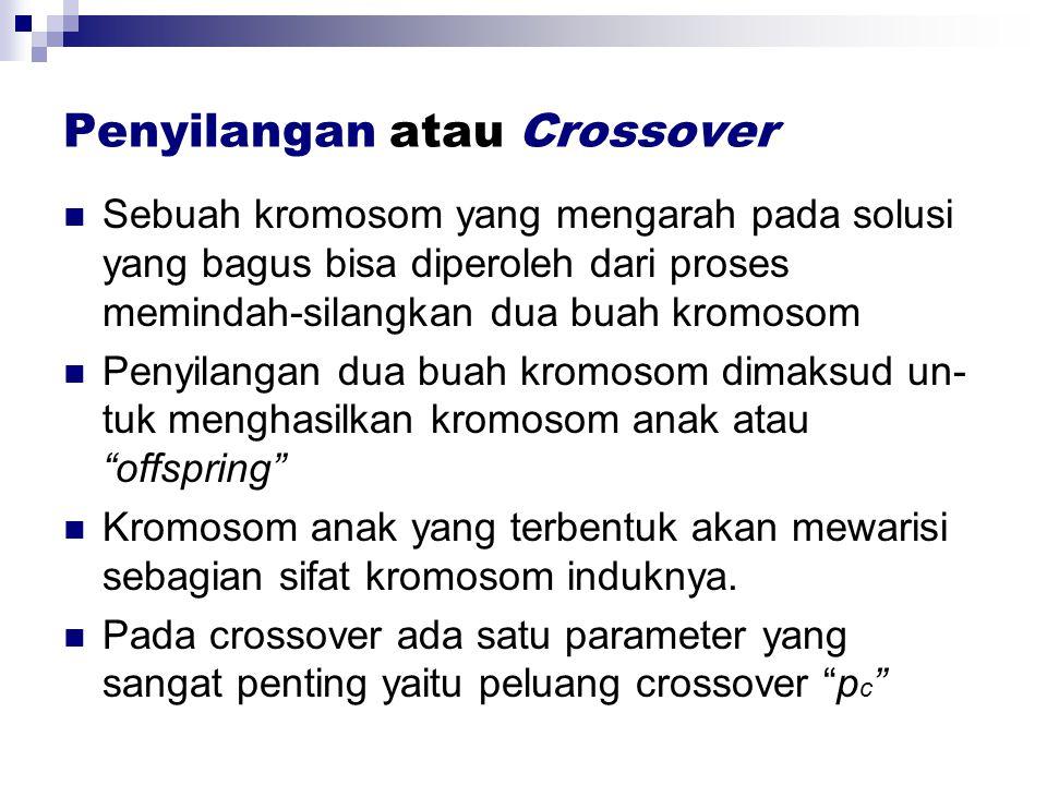 Penyilangan atau Crossover