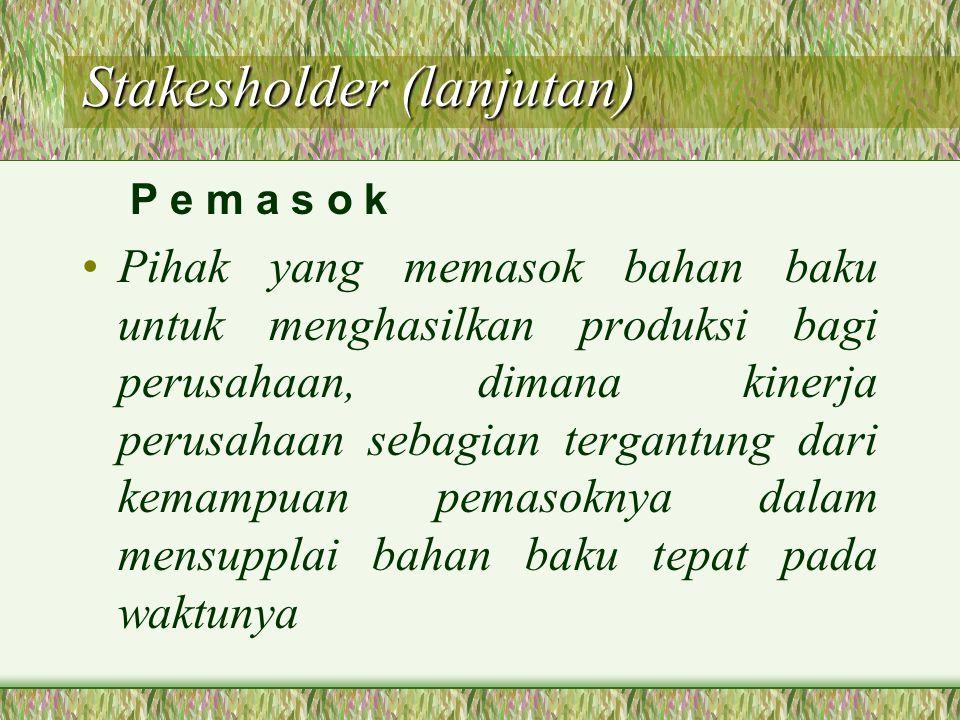 Stakesholder (lanjutan)