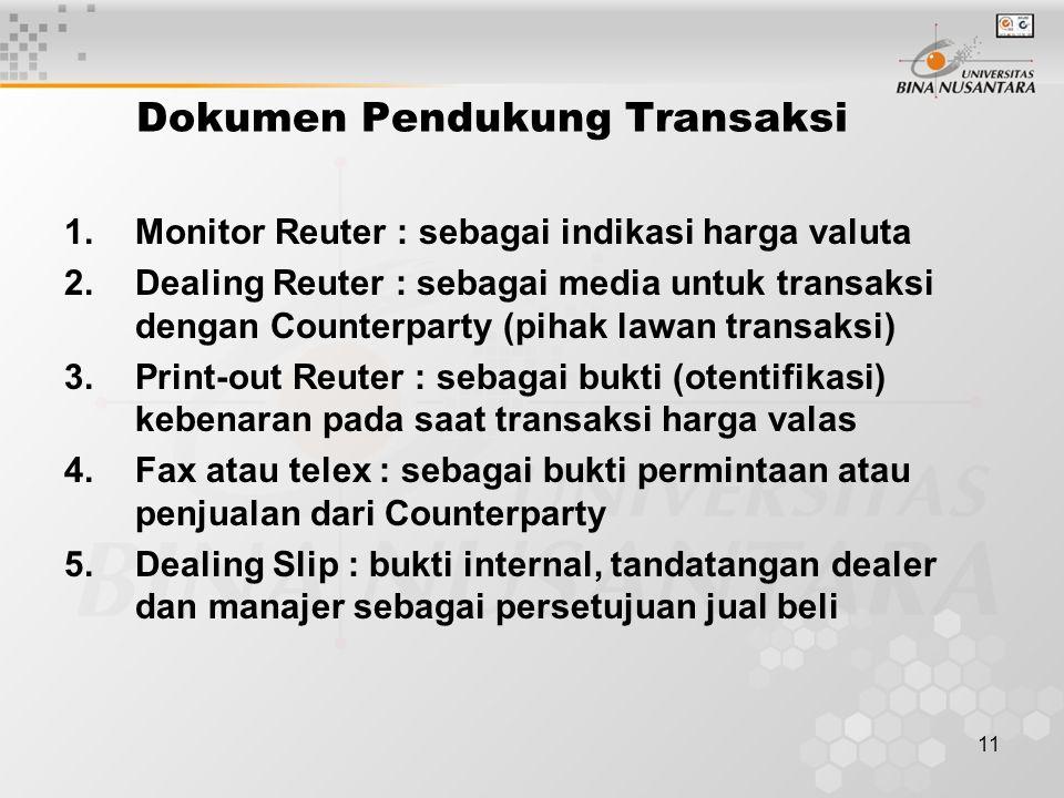 Dokumen Pendukung Transaksi