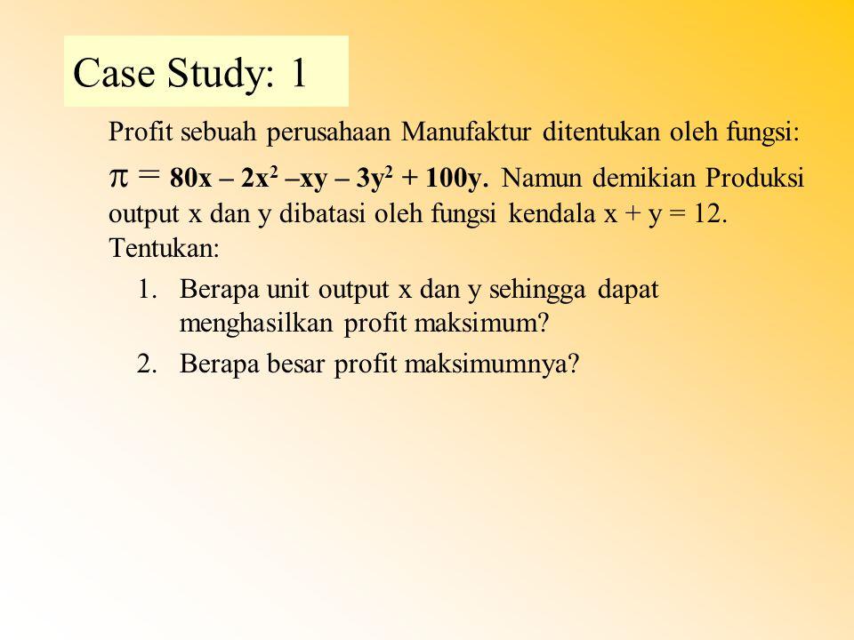 Case Study: 1