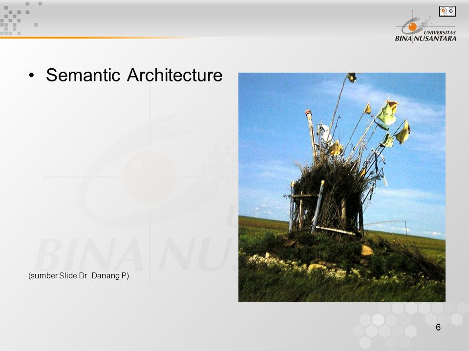 Semantic Architecture