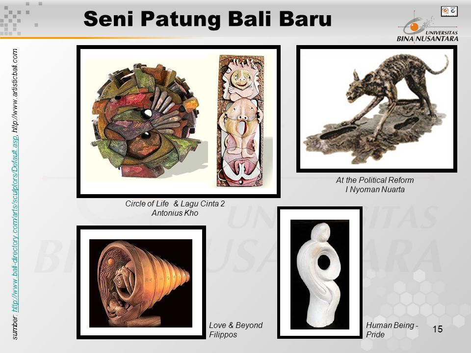 Seni Patung Bali Baru At the Political Reform I Nyoman Nuarta