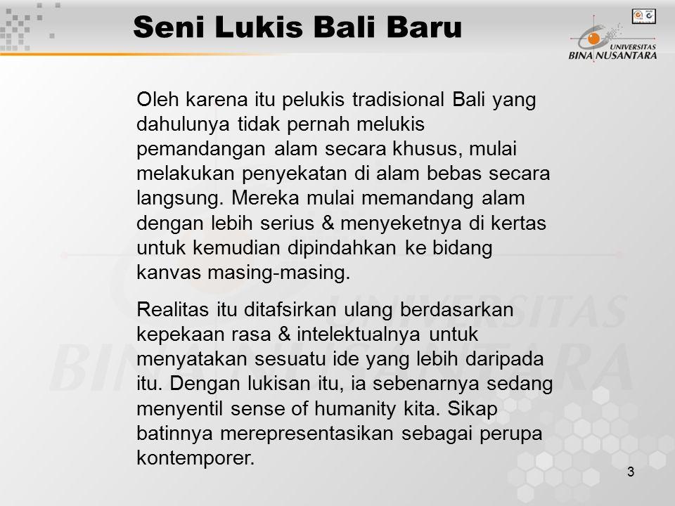 Seni Lukis Bali Baru