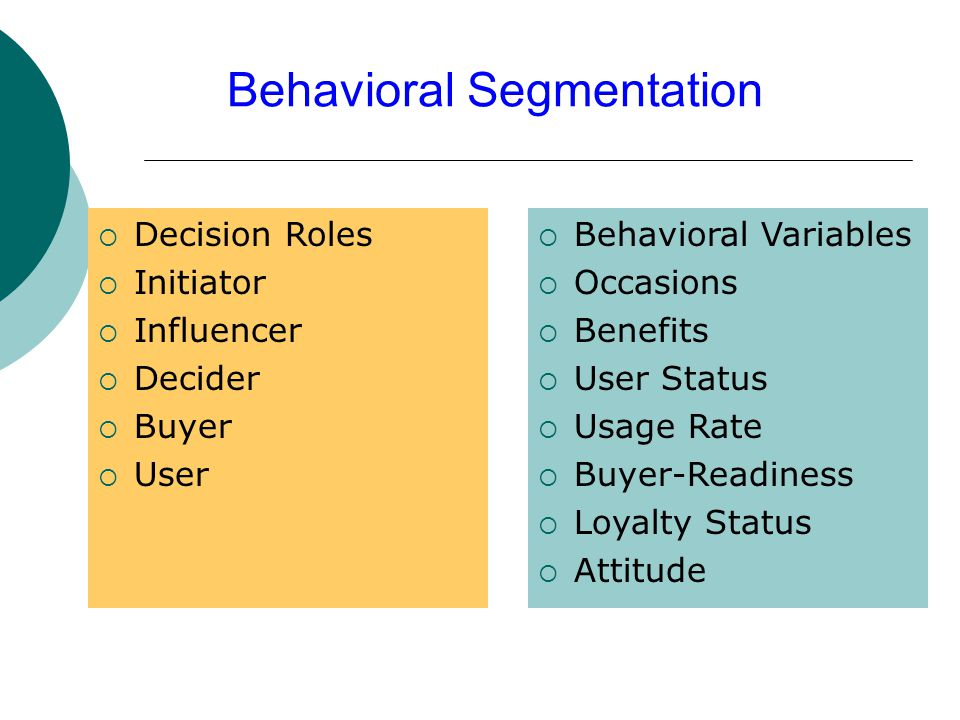 behavioral segmentation disney Behavioral segmentation the positioning strategies identified in the chapter they could select companies already discussed such as mcdonald's and disney.