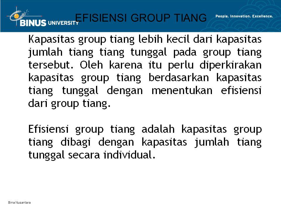 EFISIENSI GROUP TIANG Bina Nusantara
