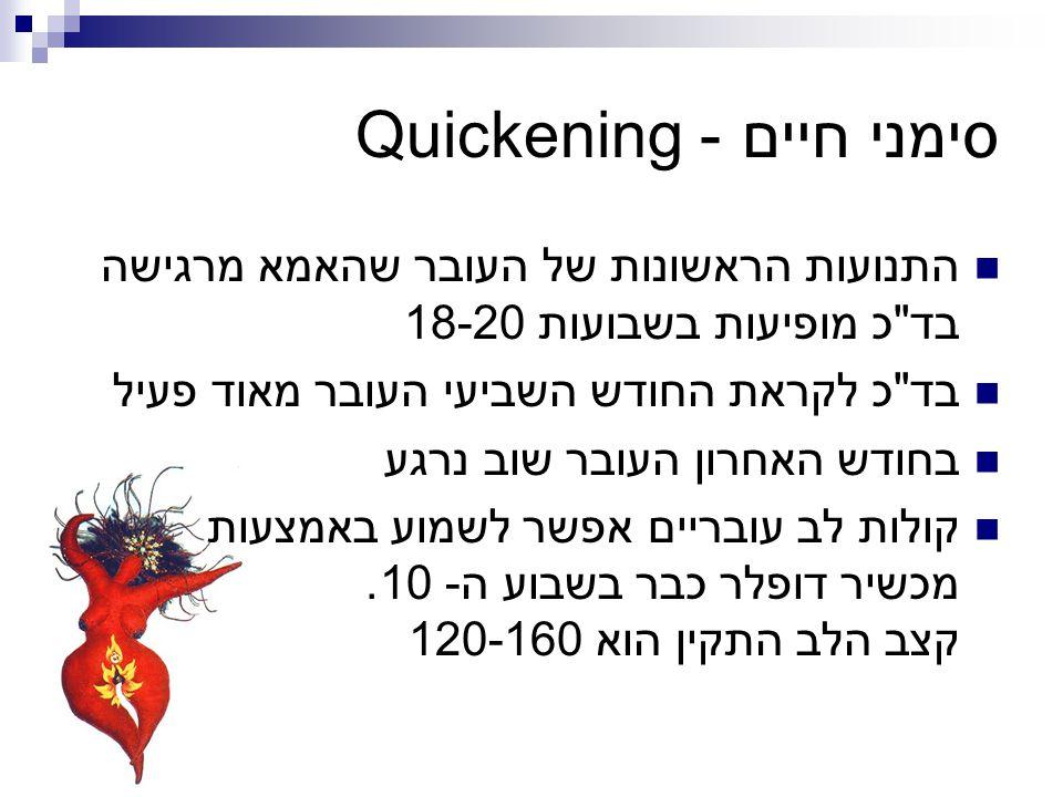 סימני חיים - Quickening