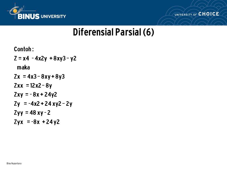 Diferensial Parsial (6)