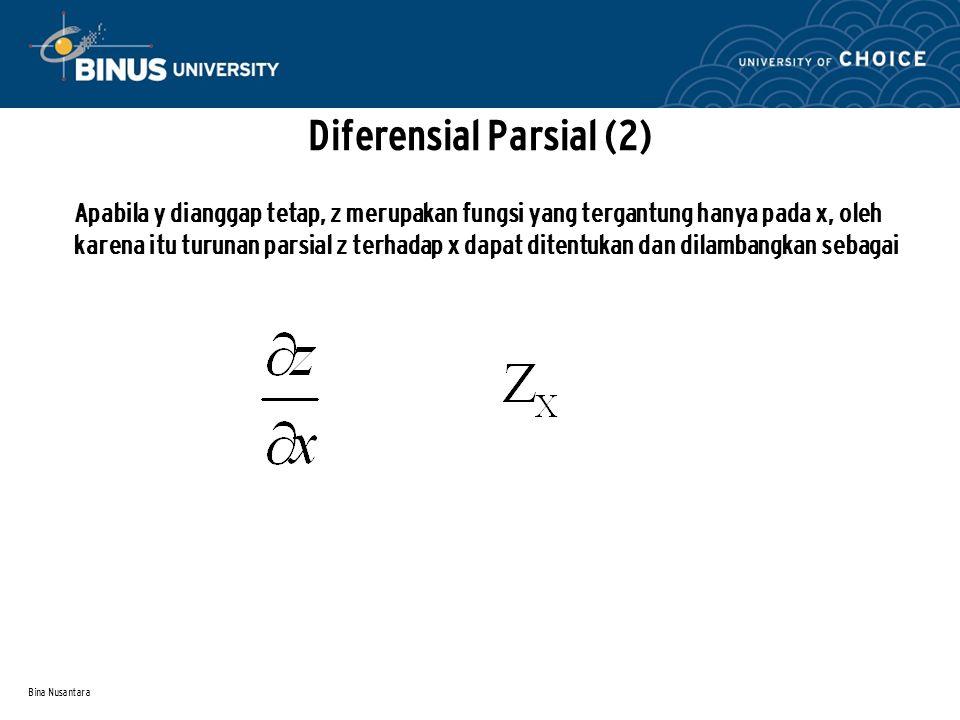 Diferensial Parsial (2)